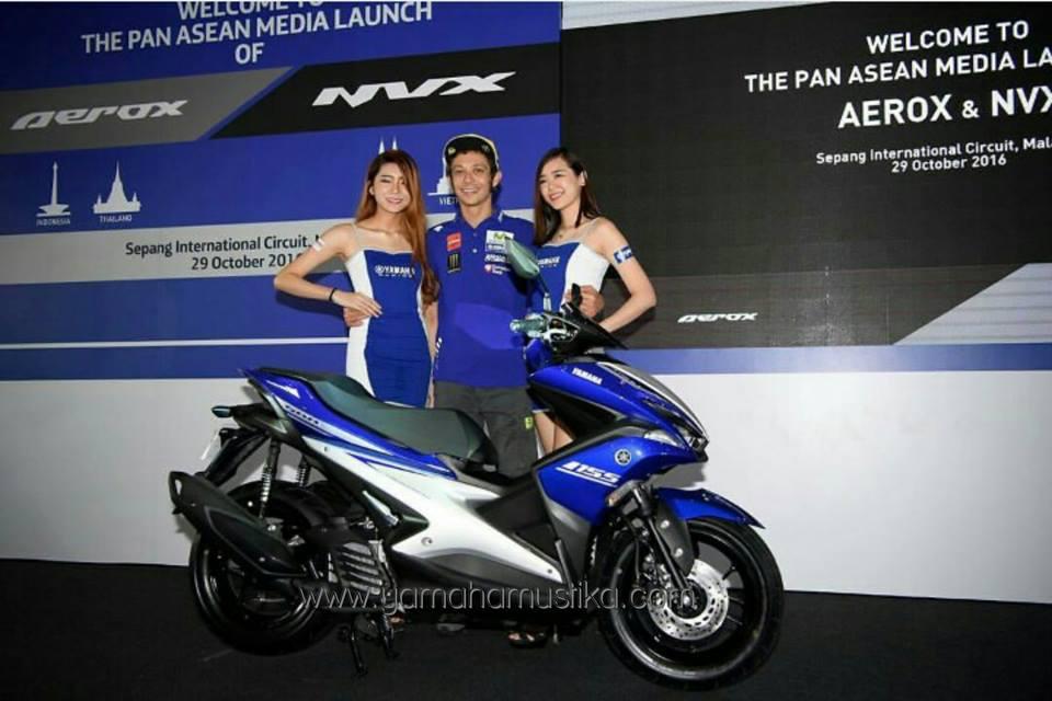 Yamaha Luncurkan NVX 155cc Bareng Valentino Rossi di Malaysia