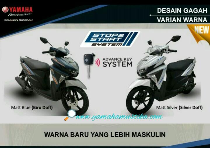 Fitur dan Harga Kredit Yamaha New Soul GT 125 AKS SSS