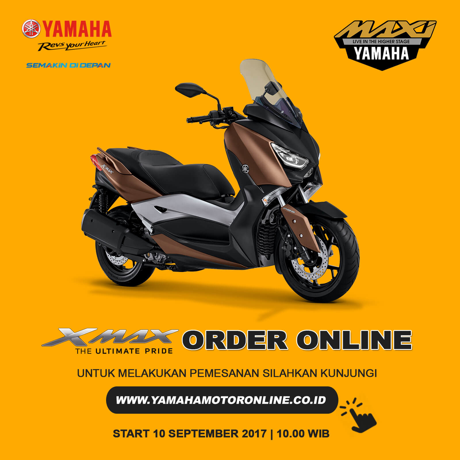 XMAX Order Online Day Dibuka Lagi 10 September 2017