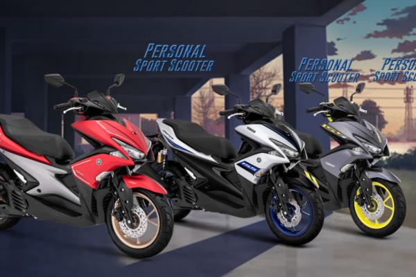Kredit Motor Yamaha Aerox 155 Diskon Angsuran 5 Bulan